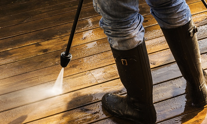 Swift Shine - Memphis: Exterior Power-Washing for a One- or Two-Story House from Swift Shine (Up to 51% Off)