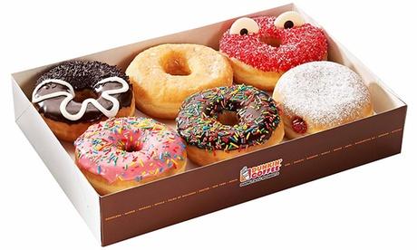 Dunkin Coffee: caja de 6 o 12 Dunkins del sabor que quieras desde 5 € en el C.C. Splau
