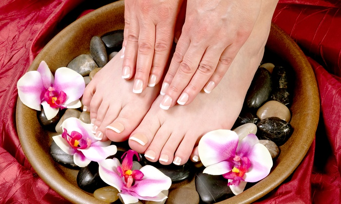 Dashing Diva - Greenwich Village: Marine Spa Manicure, Marine Spa Pedicure, or Both at Dashing Diva (Up to 52% Off)