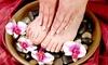 OOB - DD Village, Inc. - Greenwich Village: Marine Spa Manicure, Marine Spa Pedicure, or Both at Dashing Diva (Up to 52% Off)