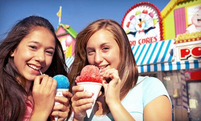 Midway of Fun at Sacramento County Fair - North Sacramento: $12 for Carnival Rides at the Midway of Fun at Sacramento County Fair (Up to $29 Value)