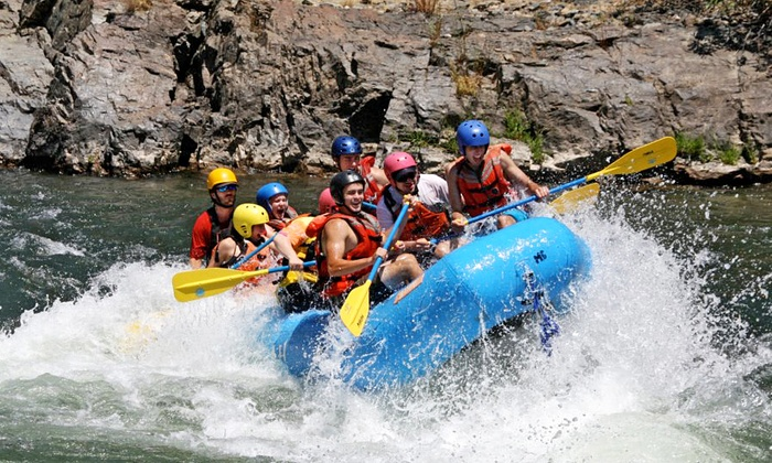 Mariah Wilderness Expeditions - Lotus: Half-Day Rafting Trip or Winery Tour and Rafting Trip from Mariah Wilderness Expeditions (Up to 50% Off)