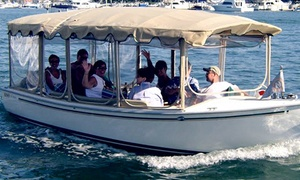 The Electric Boat Company: $99 for a Two-Hour Rental of a 21-Foot Electric Boat at The Electric Boat Company ($198 Value)