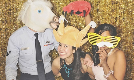 Weekend or Weekday Photo-Booth Rental of Up to 12 Hours from Famous William Company (50% Off)
