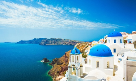 ✈Athens and Santorini: 5 or 7 Nights at Choice of Hotels with Flights and Ferry Transfer*