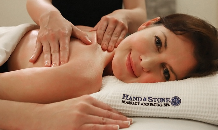 Hand & Stone Massage and Facial Spa - Multiple Locations: Swedish Massage and Signature Facial or 6-Month Membership at Hand & Stone Massage and Facial Spa (Up to 64% Off)