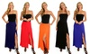 Lyss Loo Women's Maxi Skirt with Side Slit: Lyss Loo Women's Maxi Skirt with Side Slit