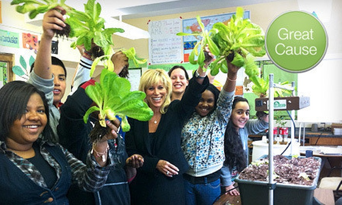 Earth Day New York: $10 Donation to Help Provide Classroom Garden