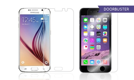 OnTek Tempered-Glass Screen Protectors for iPhones and Samsung Galaxy Phones