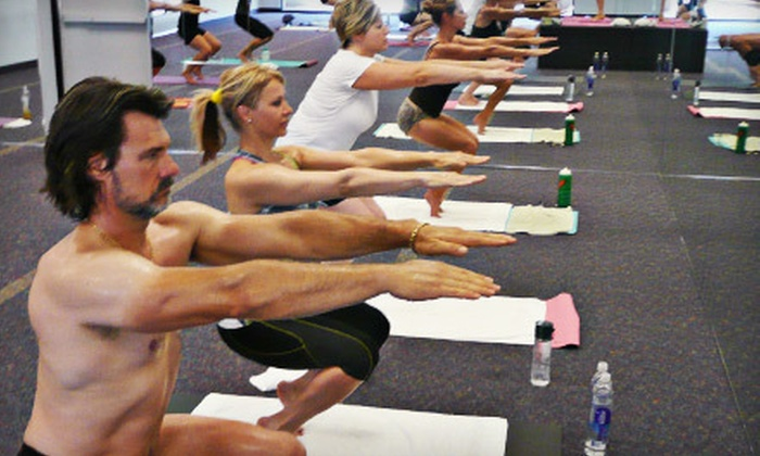 Bikram Yoga North Phoenix - Stetson Hills State: 10 Classes, One Month of Unlimited Classes, or 25 Classes at Bikram Yoga North Phoenix (Up to 79% Off)