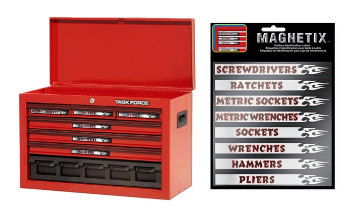 16-Pack of Magnetix Magnetic Toolbox Identification Labels: 16-Pack of Magnetix Magnetic Toolbox Identification Labels. Free Returns.