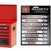 16-Pack of Magnetix Magnetic Toolbox Identification Labels