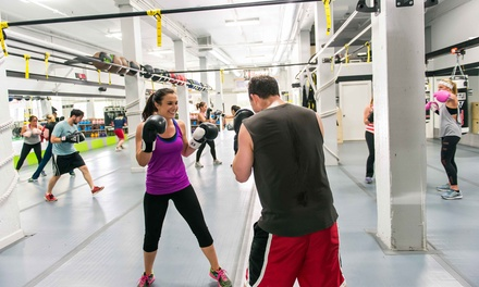 5 or 10 Cardio Boxing and TRX Circuit Training Classes at HIT Fit SF (Up to 76% Off)