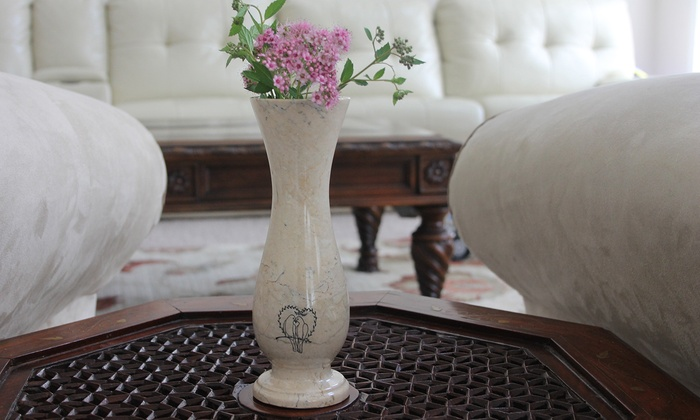Personalized Marble Vases from Marble Products International: Personalized Marble Vase from Marble Products International
