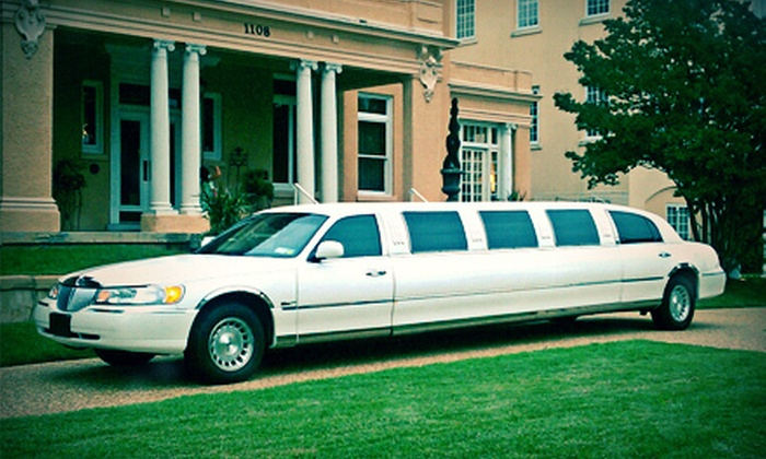 Royal Limousine - Goose Island: $199 for a Four-Hour Wedding or Bachelor/Bachelorette Party Limo Rental from Royal Limousine ($400 Value)