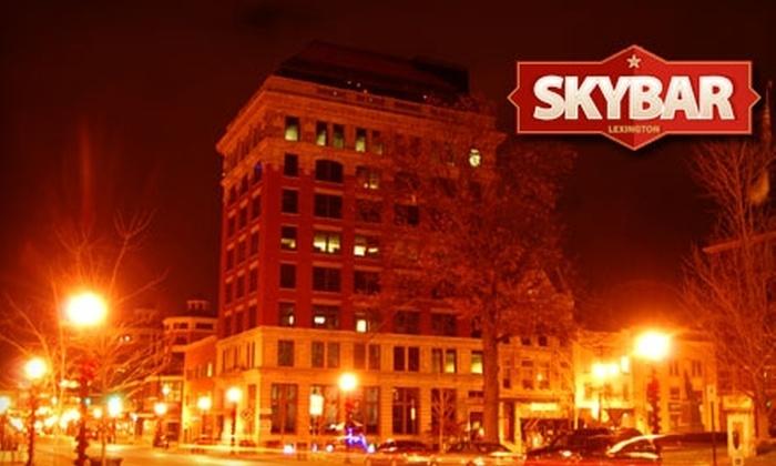 SkyBar of Lexington - Downtown Lexington: $20 for $40 Worth of Upscale Tapas, Bar Fare, and Drinks at SkyBar of Lexington