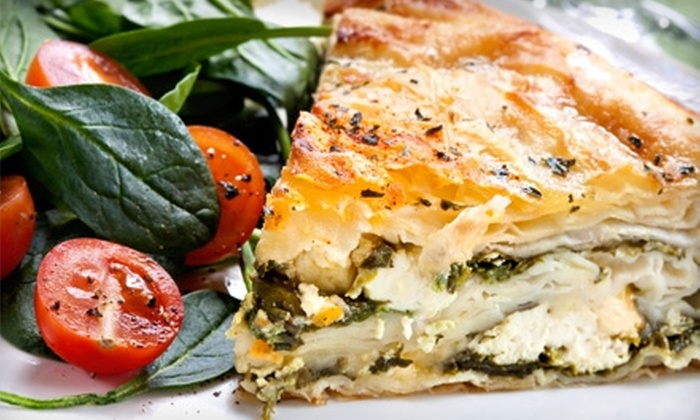 Pappas Restaurant - Palm Springs Plaza: $6 for $12 Worth of Greek and American Lunch and Dinner Fare at Pappas Restaurant in Coral Springs