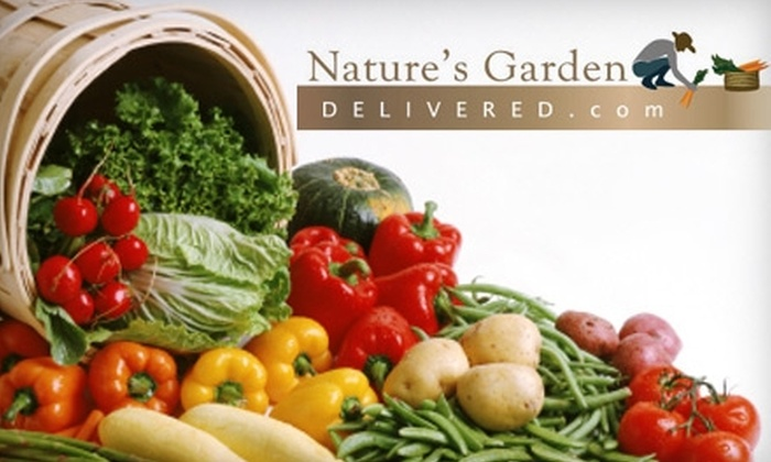 Natures Garden Delivered - Dayton: $15 for $32 Worth of Organic, Local Produce from Nature's Garden Delivered
