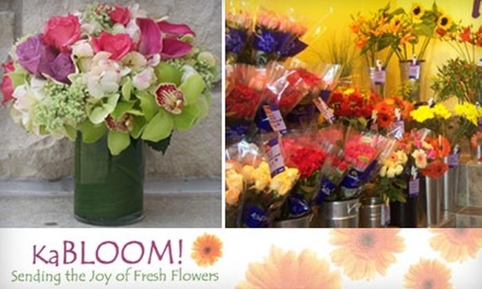 KaBloom of Tulsa - Holliday Hills: $20 for $40 Worth of Flower Arrangements at KaBloom of Tulsa