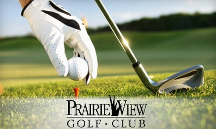 Prairie View Golf Club - Carmel: $189 for Four Rounds of Golf and 10 One-Hour Lesson Clinics at Prairie View Golf Club in Carmel