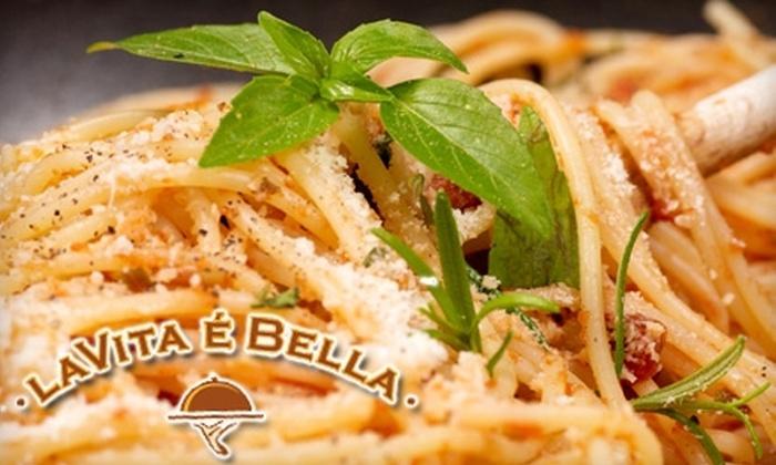 La Vita E Bella - Belltown: $25 for $50 Worth of Italian Cuisine at La Vita E Bella