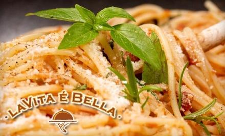 $50 Groupon to La Vita E Bella - La Vita E Bella in Seattle