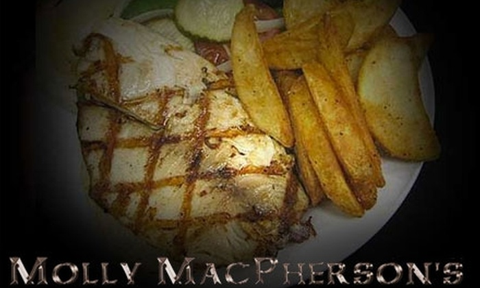 Molly MacPherson's Scottish Pub & Grill - Fourth Ward: $15 for $30 Worth of Scottish Fare at Molly MacPherson's Scottish Pub & Grill
