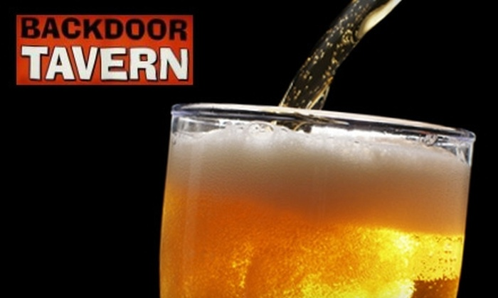 Backdoor Tavern - Knoxville: $7 for $15 Worth of Beers at Backdoor Tavern