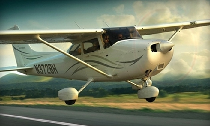 WNC Aviation - Fletcher: $55 for a Flight Lesson at WNC Aviation in Fletcher ($99 Value)