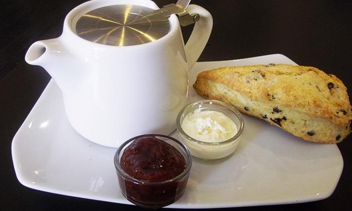 Teaz Tea Boutique - Fairview: C$12 for Devonshire Cream Tea for Two With Scones and Fruit Preserves at Teaz Tea Boutique (C$24 Value)