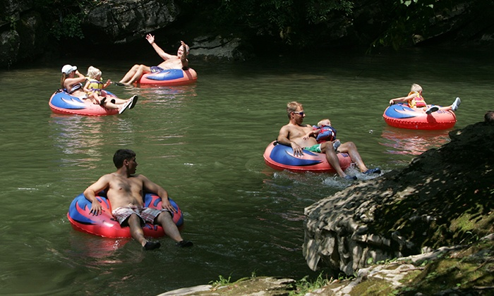 The Smokey Mountain River Romp - Sevierville: Two or Four Individual River-Tubing Rides at The Smokey Mountain River Romp (Up to 50% Off)