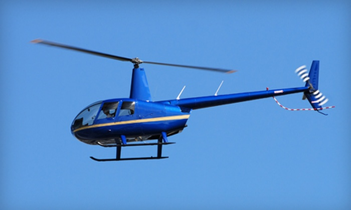 Blue Ridge Helicopters - Lawrenceville: $149 for a Lake Lanier Islands Helicopter Tour for Two from Blue Ridge Helicopters in Lawrenceville ($300 Value)
