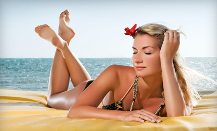 2 Personalized Airbrush-Tanning Sessions (a $54 value) - Ambiance Tan in Vancouver
