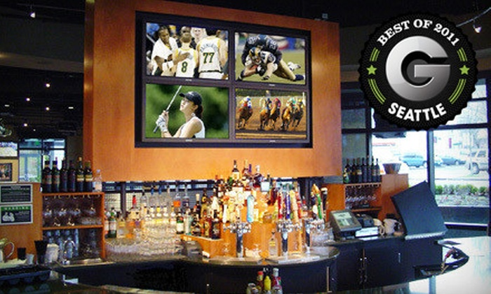 Sport Restaurant & Bar – A John Howie Restaurant - South-Lake Union: Eclectic American Fare at Sport Restaurant & Bar – A John Howie Restaurant (Half Off). Four Options Available.