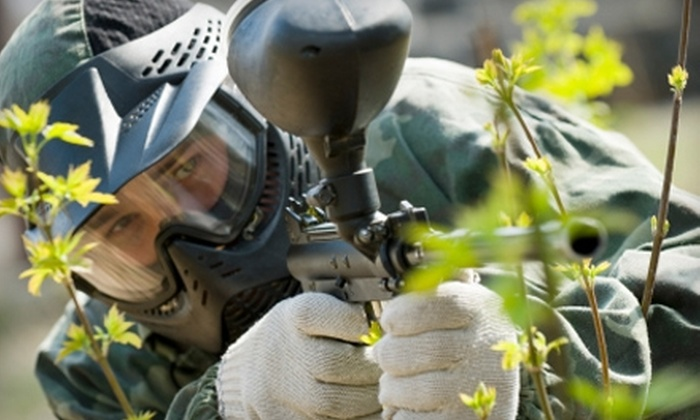True Paintball Adventure Park and Superstore - Boise City: $15 for a Field-and-Air Pass and Equipment Rental at True Paintball Adventure Park and Superstore ($31 Value)