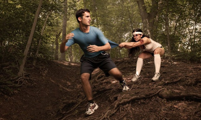 The Louisville Zombie Run - Iroquois Park: $25 for Runner Entry to The Louisville Zombie Run on April 21 (Up to $50 Value)