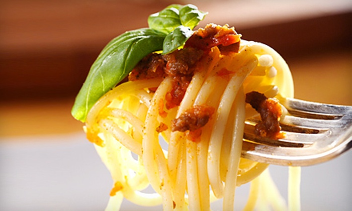 Veneziano Italian Restaurant - Colonial Place/Riverview: Italian Fare at Veneziano Italian Restaurant in Norfolk (Up to 53% Off). Two Options Available.