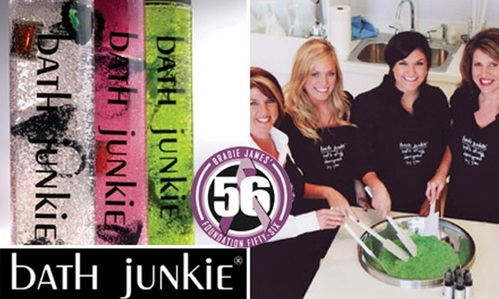 Bath Junkie Austin - Sunset Valley: $20 for $50 of Custom-Blended Products at Bath Junkie