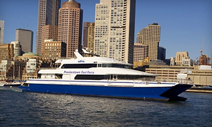 Boston Harbor Cruises - North End: $45 for an Adult Round-Trip Ferry Ticket to Cape Cod from Boston Harbor Cruises ($79 Value)