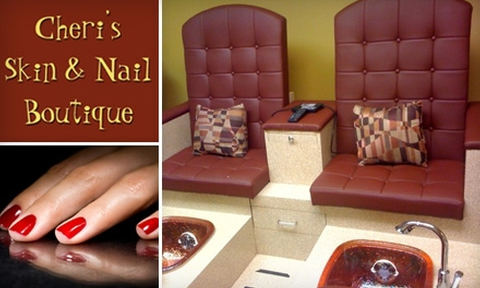Cheri's Skin & Nail Boutique - North Central: $25 for a Spa Manicure and Pedicure at Cheri's Skin & Nail Boutique ($60 Value)