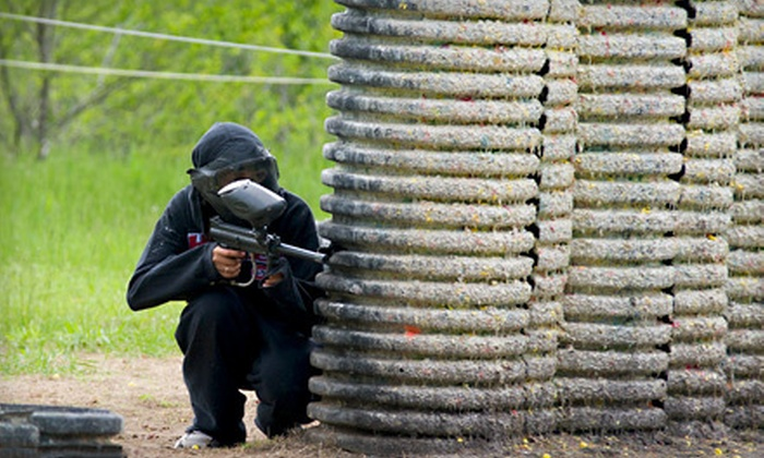 Crossfire Paintball - Sioux Falls: $22 for a Five-Hour Paintball Outing with Gear Rental and 500 Paintball Rounds at Crossfire Paintball ($45 Value)