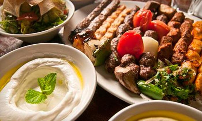 Kababji Grill - Dupont Circle: $25 for $50 Worth of Lebanese Fare and Drinks at Kababji Grill