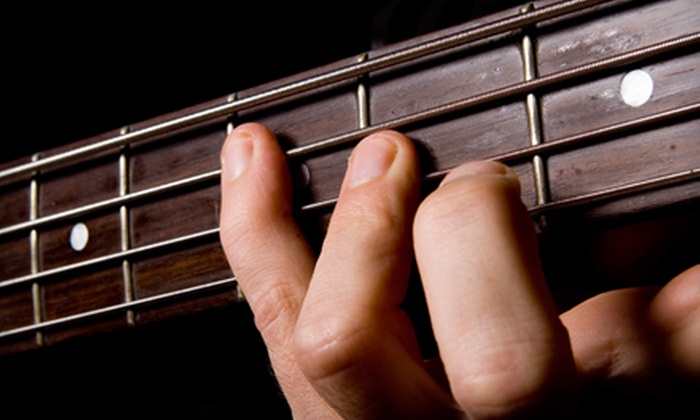 Axis Music Academy - Multiple Locations: $179 for Beginner-Guitar Package with an Electric Guitar and Four Private Lessons at Axis Music Academy ($359.99 Value)