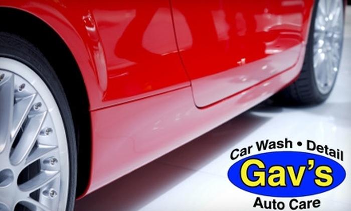 Gav's auto care - Central Contra Costa: $39 for Four Ultimate-Shine Car Washes at Gav's Auto Care in Walnut Creek