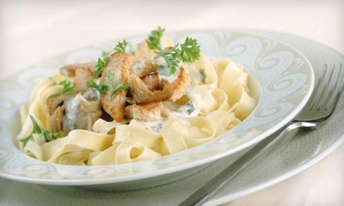 Sorriso Trattoria - Downtown: $20 for $40 Worth of Italian Dinner Fare at Sorriso Trattoria