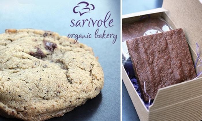 Sarivole Organic Bakery - New York City: $36 for Two Dozen Organic Cookies Delivered from Sarivole Organic Bakery ($72 Value)