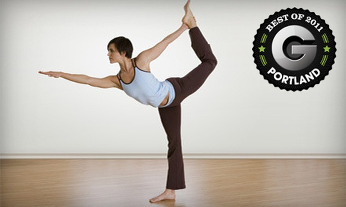 Bikram Yoga Greater Portland - Multiple Locations: 20 Hot Yoga Sessions or One Month of Unlimited Hot Yoga Sessions at Bikram Yoga Greater Portland (Up to 90% Off)