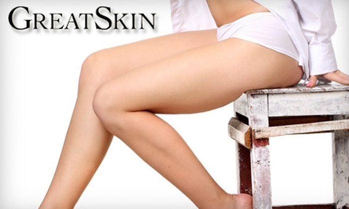 Great Skin Spa - Bryn Mawr: $95 for Three Laser Hair-Removal Treatments at Great Skin Spa (Up to $540 Value)