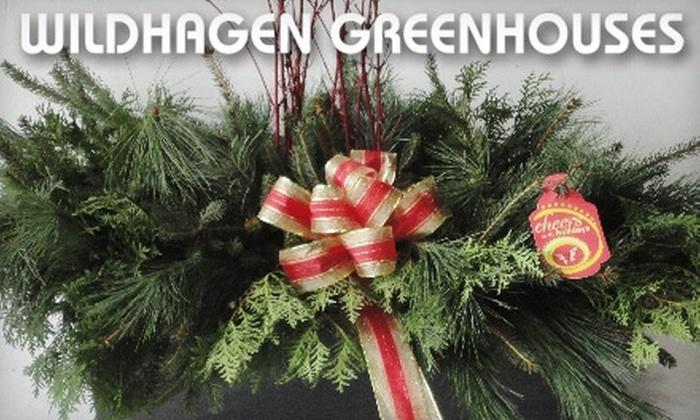 Wildhagen Greenhouses - Campbellville: $15 for $30 of Seasonal Garden Couture Plants from Wildhagen Greenhouses