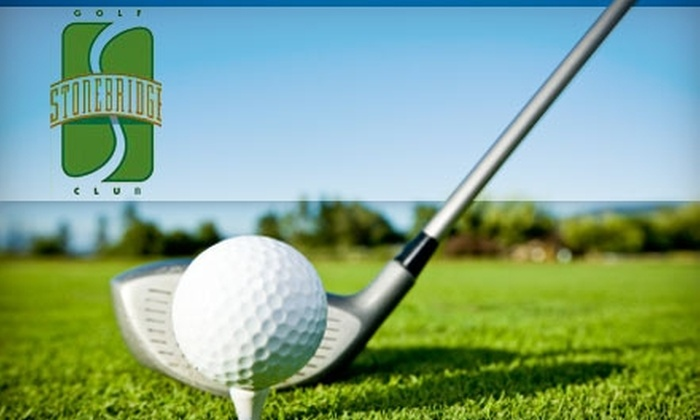 Stonebridge Golf Club - West Valley City: $22 for 18 Holes of Golf, Cart Rental, and Small Bucket of Balls at Stonebridge Golf Club